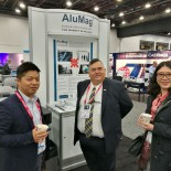 SAE2017 AluMag with customers