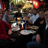SAE2017 dinner at Brazilian Churasqueria