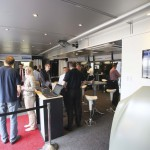 RSAL 07.2014 - DAIMLER Sindelfingen - Mercedes Benz Technology Center - AluMag Roadshow 2014 - Truck Entrance - Visitors