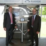 RSAL 07.2014 - DAIMLER Ulm - Mercedes Benz Research and Development Technology Center - AluMag Roadshow Truck 2014 - FWB - Mr. Wex - Mr. Nierhaus Pic92