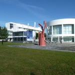 RSAL 07.2014 - DAIMLER Ulm - Mercedes Benz Research and Development Technology Center - AluMag Roadshow Truck 2014 Pic1