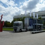 RSAL 07.2014 - DAIMLER Ulm - Mercedes Benz Research and Development Technology Center - AluMag Roadshow Truck 2014 Pic106