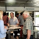 RSAL 07.2014 - FORD Cologne - John-Andrews Development Center - AluMag Roadshow 2014 - Entrance Pic2