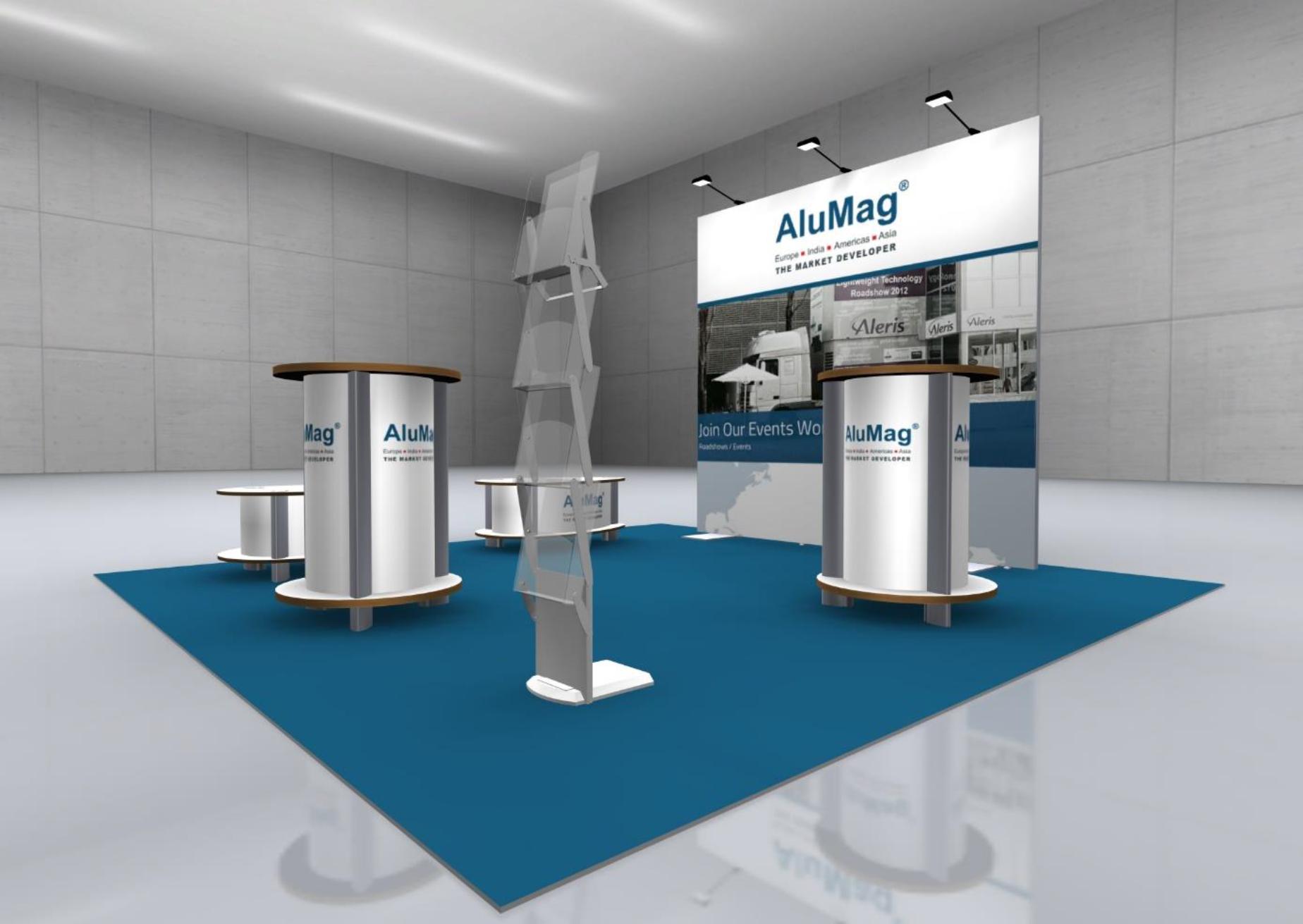 Symposium AluMag Booth System Concept II 1