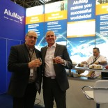 Aluminium Exhibition Duesseldorf 2016 Rheinfelden Alloys Ralf KLOS & AluMag Roberto BOEKER & Jost GAERTNER II
